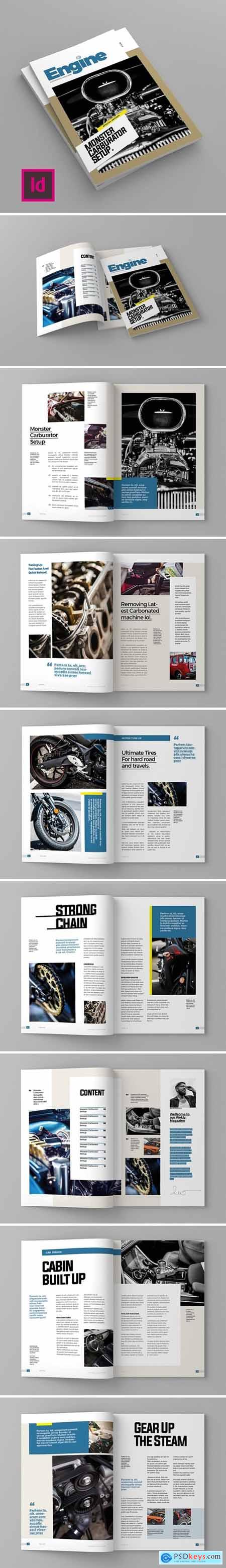 Engine - Magazine Template