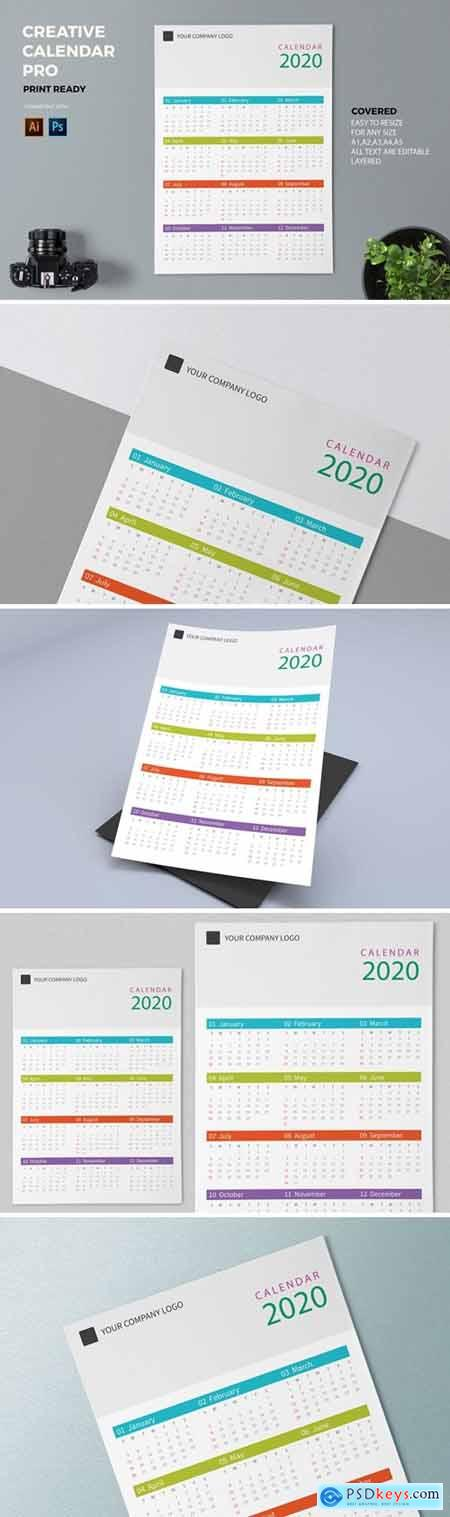 Creative Calendar Pro 2020 C