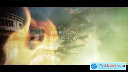 VideoHive The Burning Slideshow Opener 14438716
