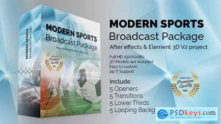 VideoHive Modern Sports Broadcast Package