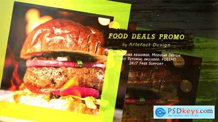 VideoHive Food Deals Promo
