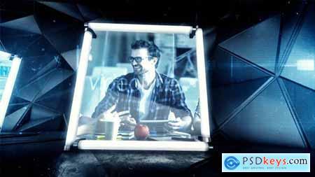 VideoHive Neon Showcase 19143961
