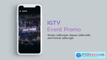VideoHive IGTV — Stylish Event Promo Vertical and Square