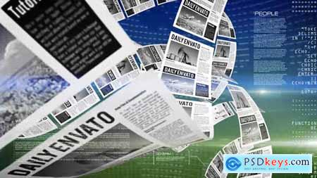 VideoHive Newspapers Review Opener
