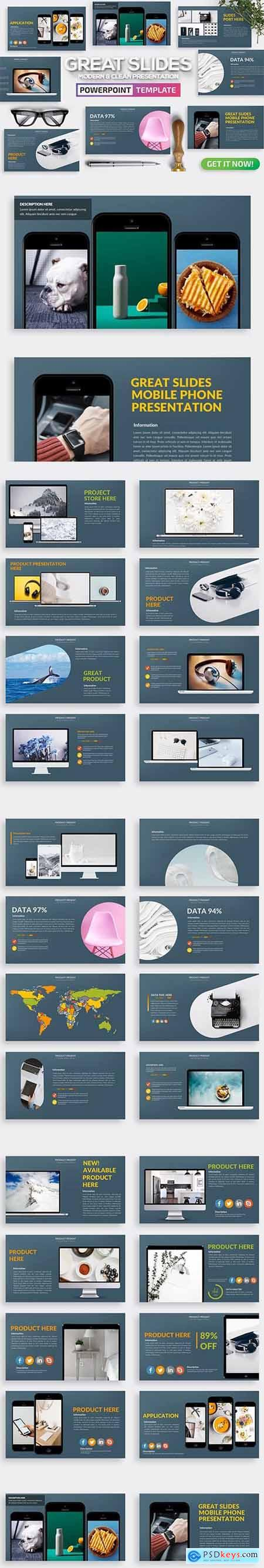 Great Slides Powerpoint Template