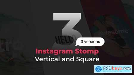 Videohive Stomp Instagram 3 in 1 Vertical and Square