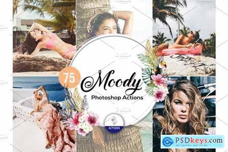 75 Moody Photoshop Actions 3937908