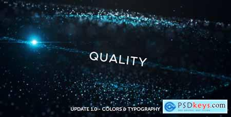 VideoHive Space Particles 19341675