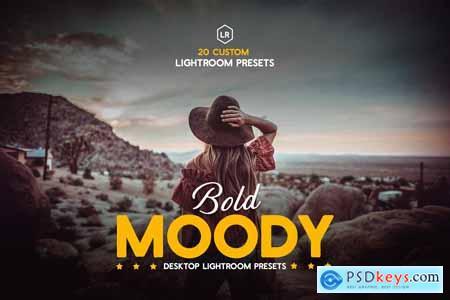 Bold Moody Lightroom Presets 3884638