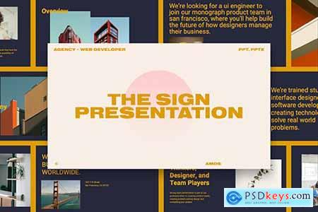 Web Design Agency - Powerpoint, Keynote Templates