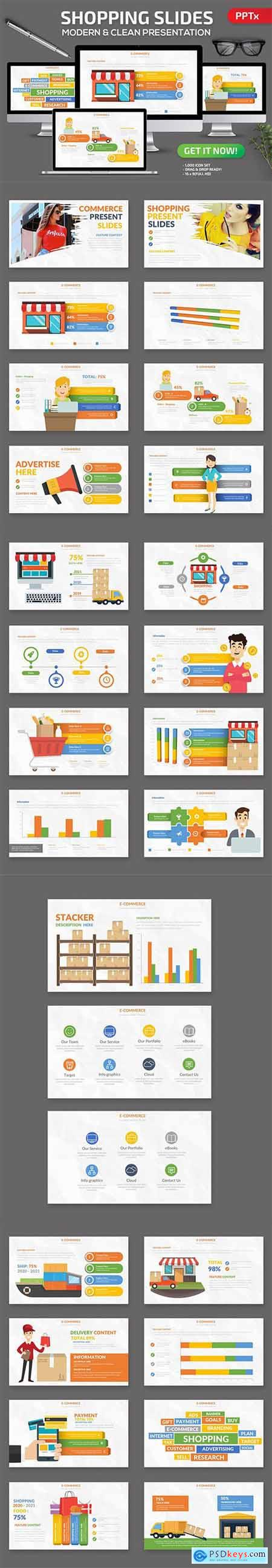 Shopping - Powerpoint and Keynote Templates