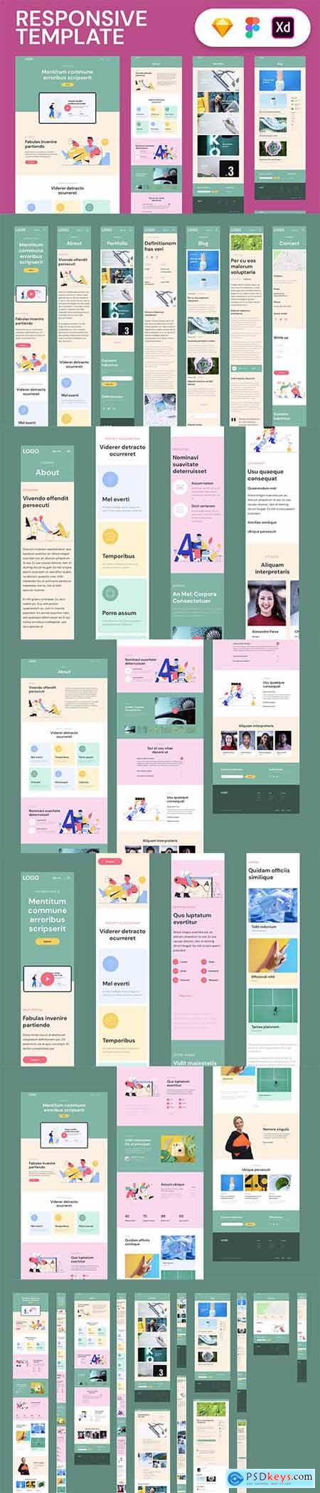 Responsive Template