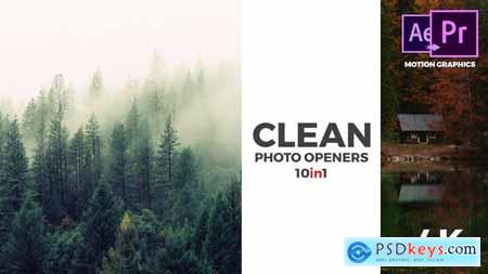 VideoHive Clean Photo Openers - Logo Reveal
