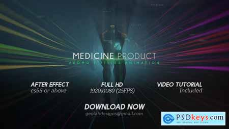 VideoHive Medicine Product Promo Titles Animations Human Titles
