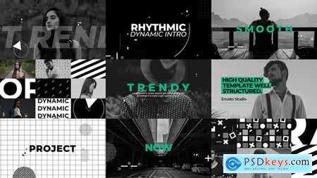 VideoHive Rhythmic Dynamic Intro 24153293