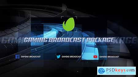 VideoHive Gaming Broadcast Package 15409849