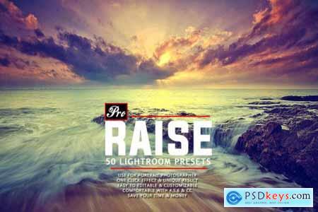 50 Pro Raise Lightroom Presets