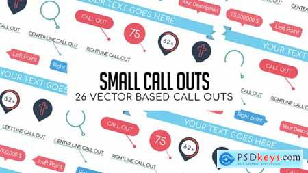 VideoHive Small Call Outs 24049040