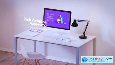 VideoHive Desk Website Promo & App Promo