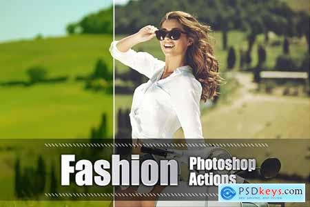 55 Fashion Photoshop Actions 3948314