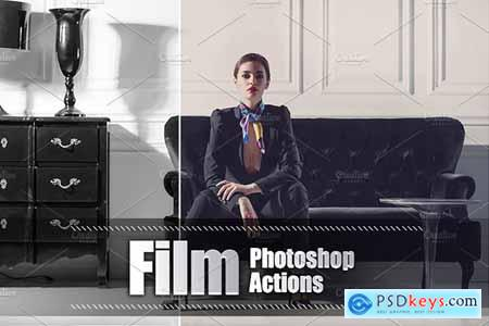 80 Film Photoshop Actions 3937468