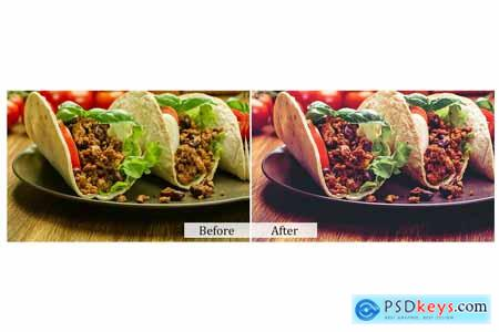 80 Food Photoshop Actions 3937507