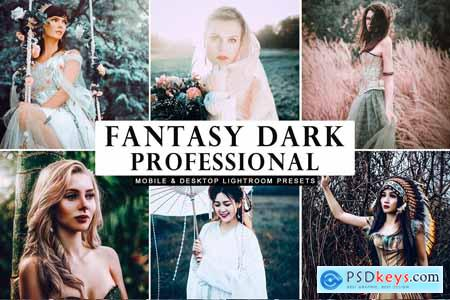 Fantasy Dark Professional Lightroom Presets 3983301