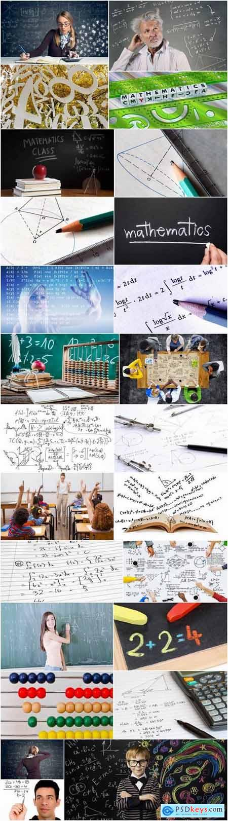 Mathematics education student schoolboy science formula 25 HQ Jpeg