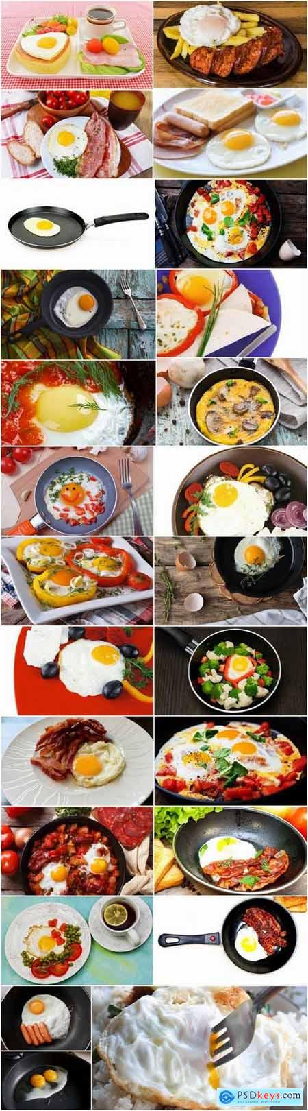 Delicious fried eggs 25 HQ Jpeg