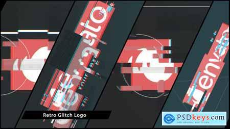 VideoHive Retro Glitch Logo 15845470
