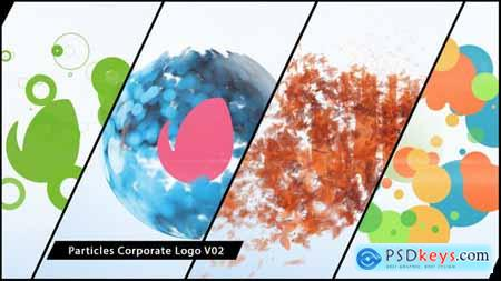 VideoHive Particles Corporate Logo 14762580