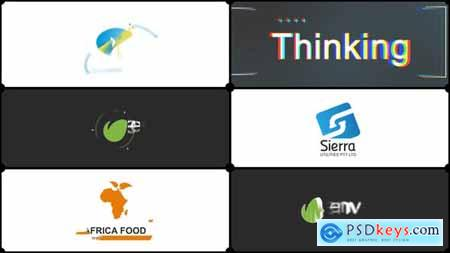 VideoHive Simple and Flat Corporate Logo