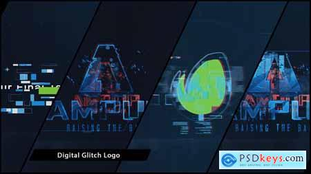 VideoHive Digital Glitch Logo 16527941