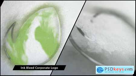 VideoHive Ink Bleed Corporate Logo