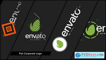VideoHive Flat Corporate Logo V01