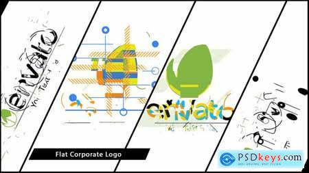 VideoHive Flat Corporate Logo V02