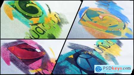 VideoHive Pencil Sketch Logo 22513761