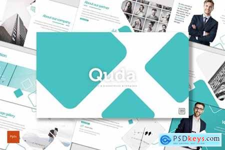 Quda Powerpoint, Keynote and Google Slides Templates