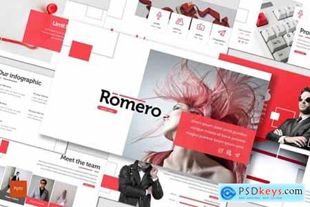 Romero Powerpoint, Keynote and Google Slides Templates