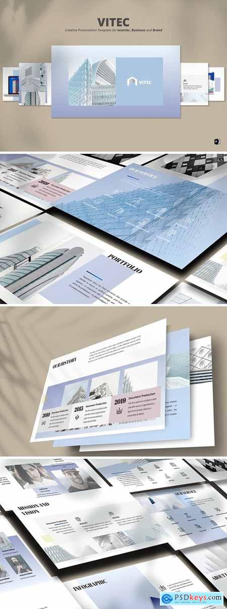 Vitec Powerpoint, Keynote and Google Slides Templates