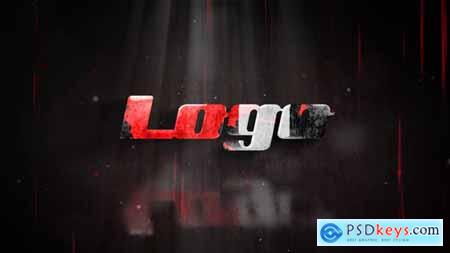 VideoHive Horror Logo Reveal 24223358
