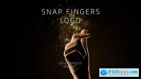 VideoHive Snap Fingers Logo 24198870