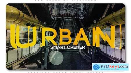 VideoHive Parallax Urban Smart Opener