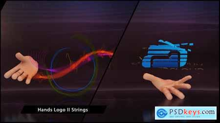 VideoHive Hands Logo II Strings 5924115