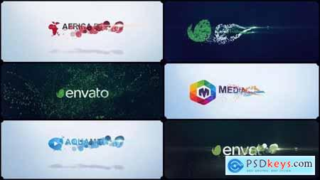 VideoHive Particles Corporate Logo V02 15450337
