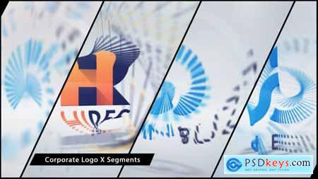 VideoHive Corporate Logo X Segments