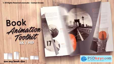 Videohive Book Animation Toolkit 21751656 (Update 29 May 19)