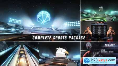 Videohive Action Zone Complete Sports Broadcast Package