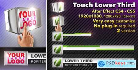 Videohive Touch Lower Third 1239276