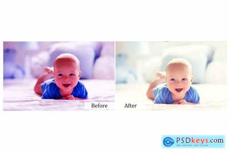 15 Hello Baby Photoshop Actions 3937566